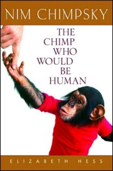 photo from cover of book on Nim Chimpsky