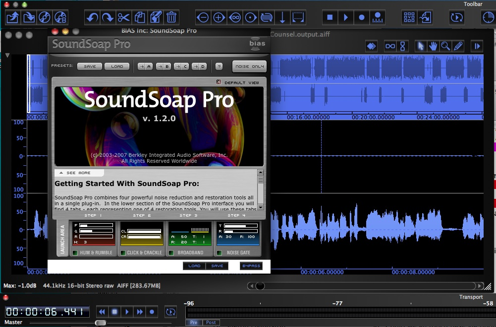 photo of Sound Soap Pro with Peak Pro 6